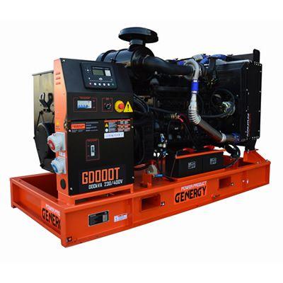 Generador Diesel Abierto GD10T