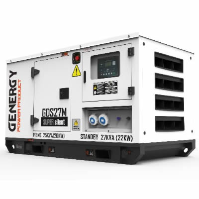 Grupo Electrogeno Diesel Monofasico GDS27M