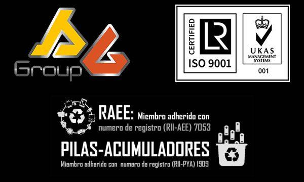SG  Group UKAS 9001 RAEE